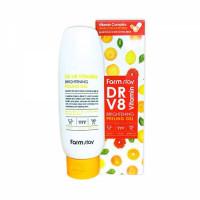 Farmstay Гель с комплексом витаминов Dr-V8 Vitamin Brightening Peeling Gel