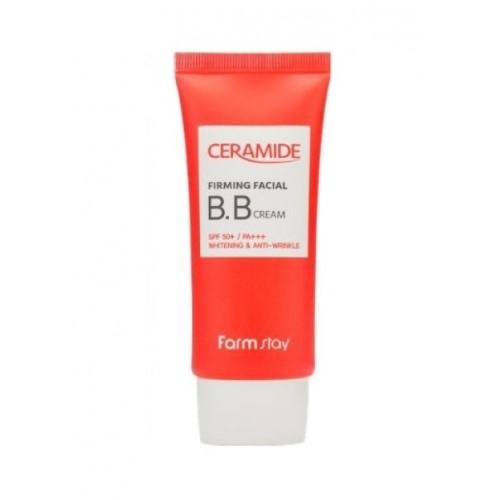 FarmStay Крем ББ укрепляющий с керамидами Ceramide Firming Facial BB Cream SPF 50+/PA+++
