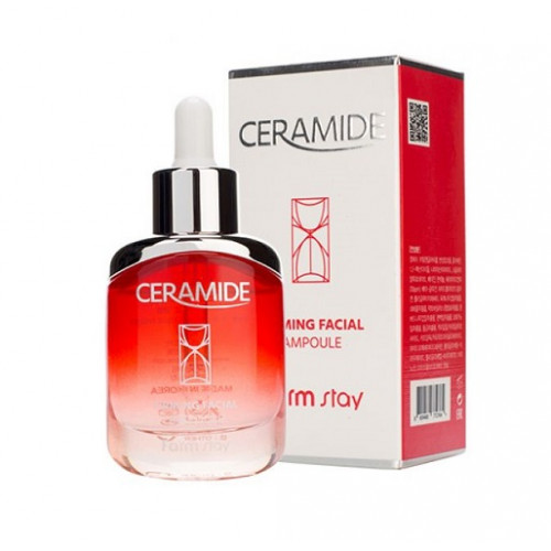 FarmStay Сыворотка ампульная для лица с керамидами Ceramide Firming Facial Ampoule