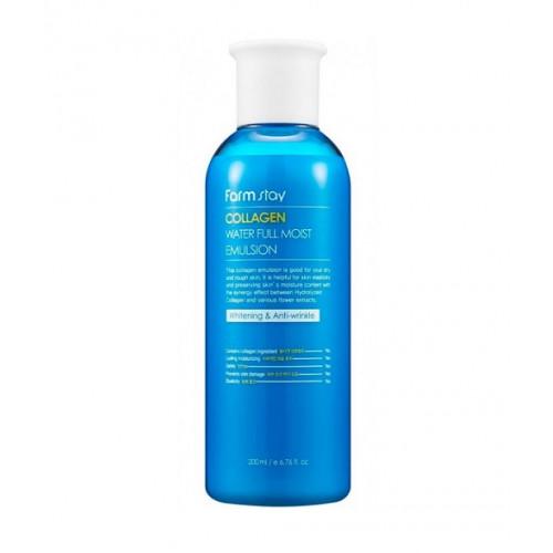 FarmStay Эмульсия с коллагеном Collagen Water Full Moist Emulsion