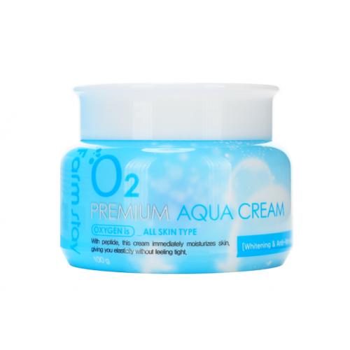 FarmStay Крем увлажняющий с кислородом O2 Premium Aqua Cream