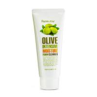 FarmStay Пенка для умывания Olive Intensive Moisture Form Cleanser