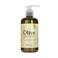 Farmstay Лосьон увлажняющий для тела с экстрактом оливы Olive Moisture Balancing Body Lotion