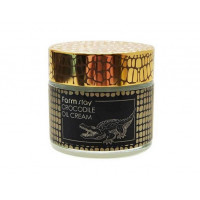 Farmstay Крем с крокодильим жиром Crocodile Oil Cream