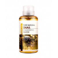 FarmStay Вода очищающая с муцином улитки Pure Natural Snail Cleansing Water