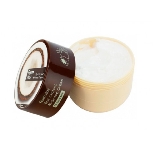 FarmStay Крем с экстрактом кокоса Real Coconut All-in-one Cream