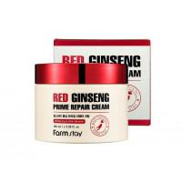 Farmstay Крем с экстрактом красного женьшеня Red Ginseng Prime Repair Cream