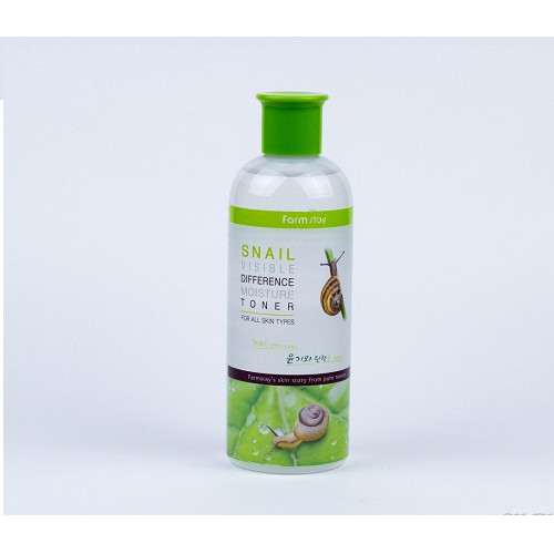 FarmStay Тонер увлажняющий с муцином улитки Snail Visible Difference Moisture Toner