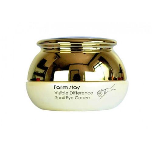 Farmstay Крем для области вокруг глаз с муцином улитки Visible Difference Snail Eye Cream