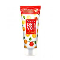 Farmstay Пенка для умывания витаминная DR-V8 Vitamin Foam Cleansing
