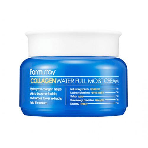 FarmStay Крем для лица коллагеновый Collagen water ful moist cream
