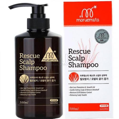 Mstar Шампунь от выпадения волос Rescue Sclap Shampoo