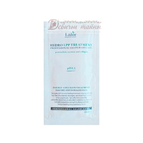 La'dor Шампунь для волос с аргановым маслом Damaged Protector Acid Shampoo (пробник)