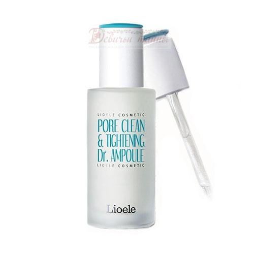 Lioele Сыворотка сужающая поры Pore Clean & Tightening Dr. Ampoule Pore Control