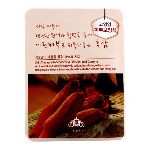 Lioele Маска красный женьшень Essential Mask Red Ginseng