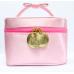Lioele косметичка розовая bag makeup pink pouch