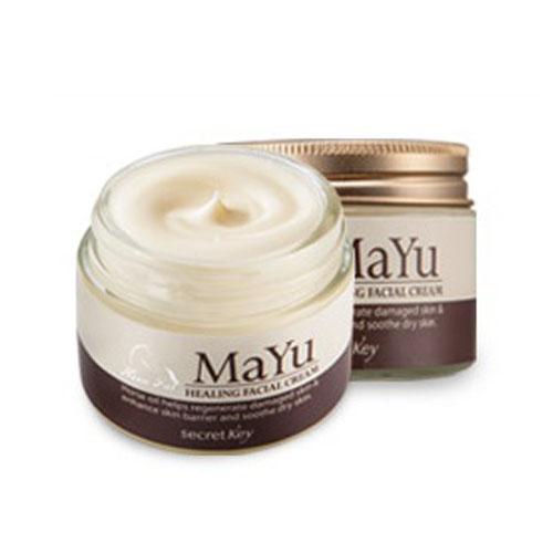 Secret Key Крем для лица питательный Mayu Healing Facial Cream (пробник)