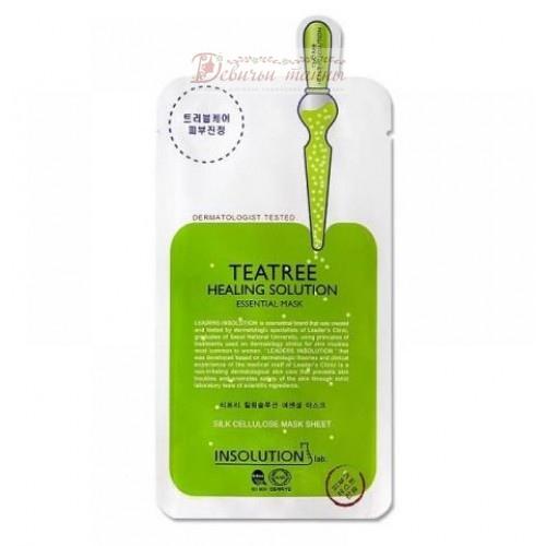 Mediheal Маска для лица с экстрактом чайного дерева Tea Tree Healing Solution Essential Mask