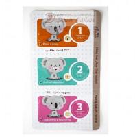 Mijin Набор от черных точек 3-Step Koala Nose Clear Solution