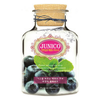 Mijin Маска тканевая c экстрактом черники  Junico Blueberry Essence Mask