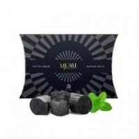 Mijin Маска для лица с древесным углем Premium Charcoal black mask
