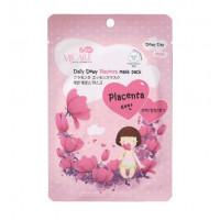 Mijin Маска тканевая с плацентой  MJ Care Daily Dewy Placenta mask pack