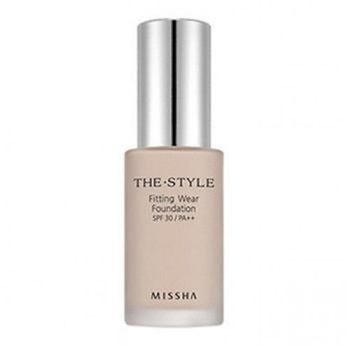 Missha тональная основа the style fitting wear foundation spf30/pa++
