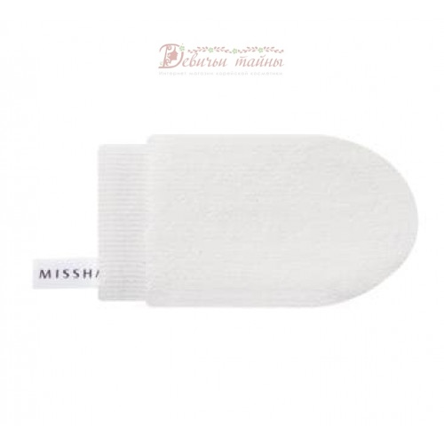 Missha варежка для очищения т-зоны лица microfiber clean-t