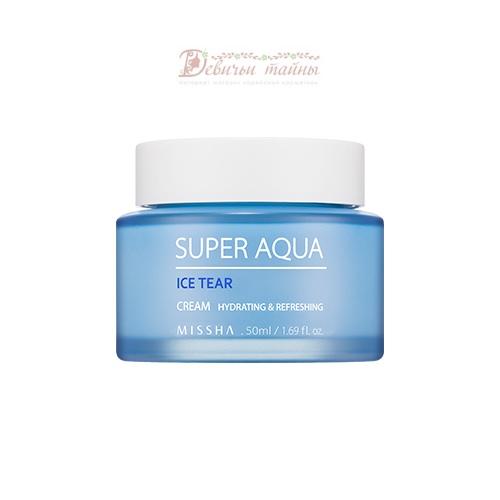 Missha Крем для лица с ледниковой водой Super Aqua Ice Tear Cream