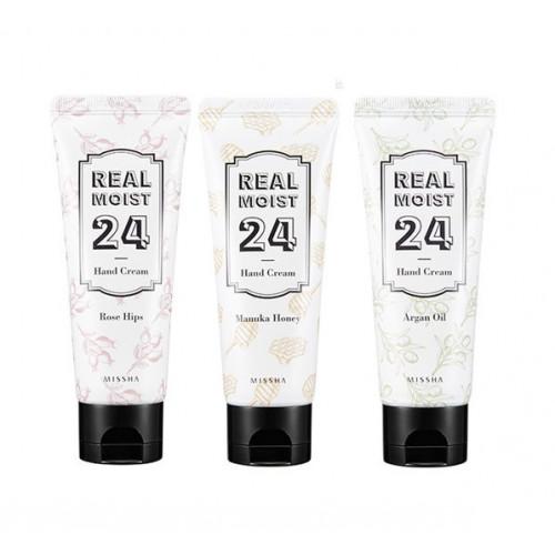 Missha крем для рук real moist 24 hand cream