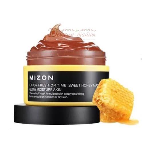 Mizon Маска для лица с экстрактом меда Enjoy Fresh-On Time Sweet Honey Mask