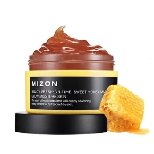 Mizon маска для лица с экстрактом меда enjoy fresh-on time sweet honey mask