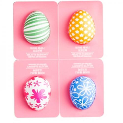 Milatte Набор крем-масок для лица 4 шт Fashiony Egg Peel-Off Cream Pack