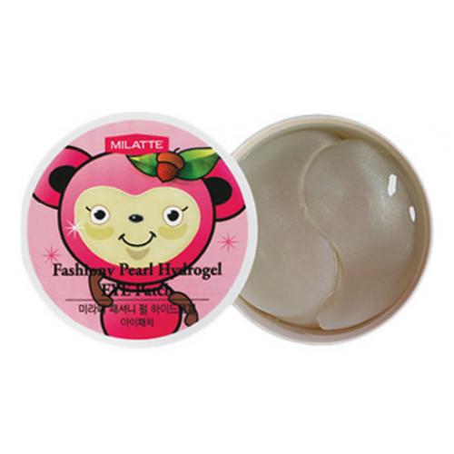 Milatte Патчи для кожи вокруг глаз гидрогелевые с жемчугом Fashiony Pearl Hydrogel Eye Patch