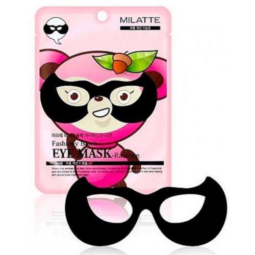 Milatte Маска от морщин вокруг глаз Fashiony Black Eye Mask