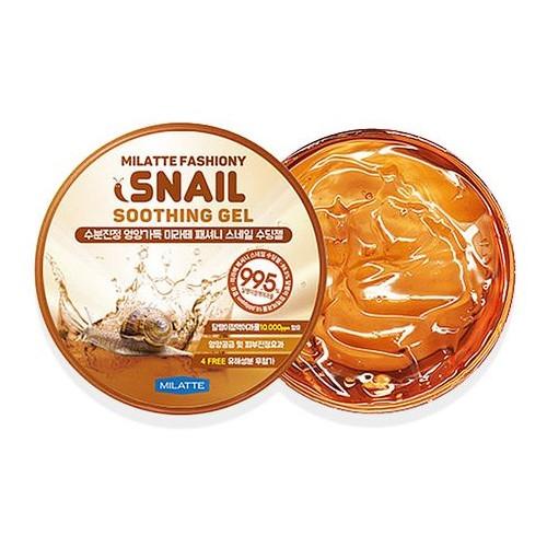 Milatte Гель увлажняющий Fashiony Snail Soothing Gel