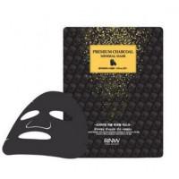 Milatte Маска для лица очищающая с древесным углем RNW Premium Charcoal Mineral Mask