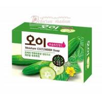 Mukunghwa Мыло огуречное Moisture Cucumber Soap