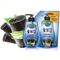 Mukunghwa Средство для мытья посуды, овощей и фруктов Kitchensoap Hardwood Charcoal Dishwashing Soap