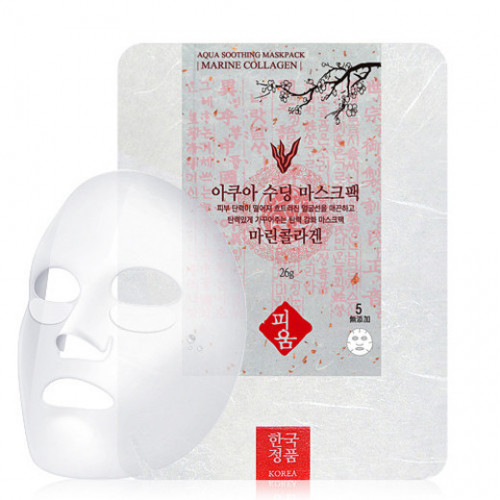 NO:HJ Маска для лица Aqua Soothing Mask
