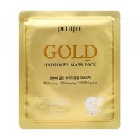 Petitfee Маска для лица гидрогелевая с золотом Gold Hydrogel Mask Pack