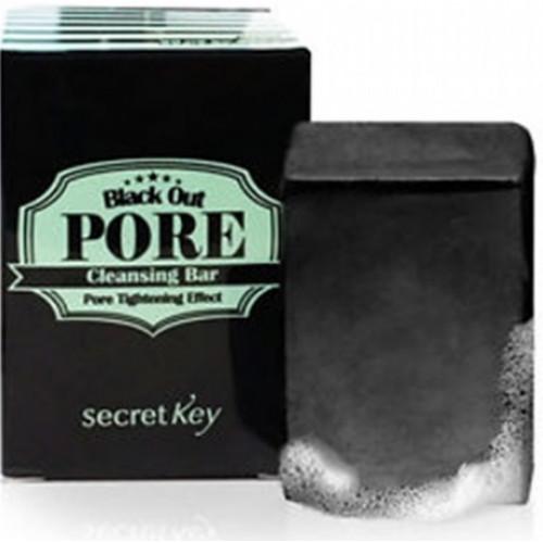 Secret Key Мыло для очищения и сужения пор Black Out Pore Cleansing Bar