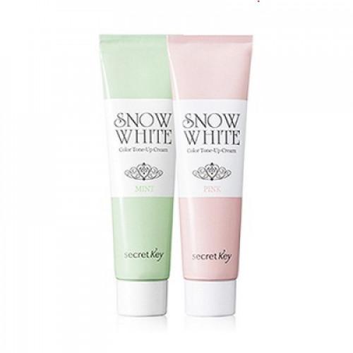 Secret key Крем для лица осветляющий Snow White Color Tone Up Cream