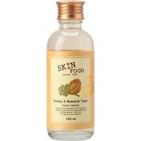 Skinfood тоник освежающий для проблемной кожи parsley & mandarin toner