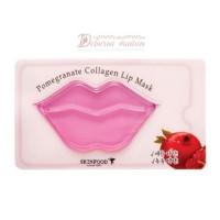 Skinfood Маска для губ гидрогелевая Pomegranate Collagen Lip Mask