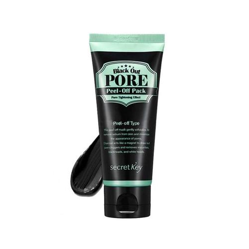 Secret Key Маска-пленка для лица Black Out Pore Peel-Off Pack