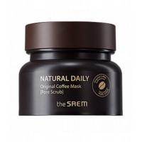 The Saem Маска-скраб для лица кофейная Natural Daily Original Coffee Mask