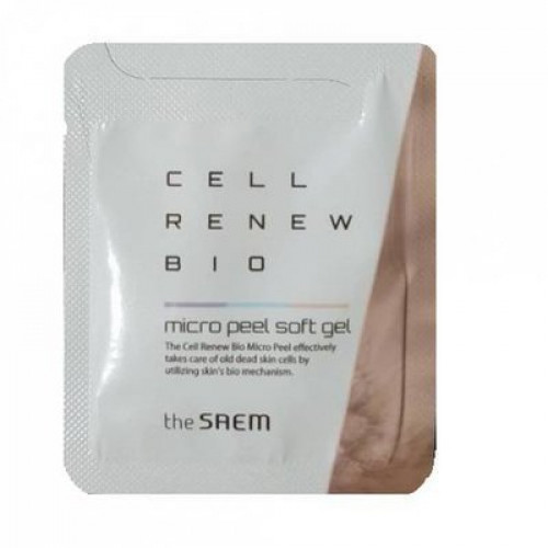 The Saem Гель-пилинг для лица Cell Renew Bio Micro Peel Soft Gel (пробник)