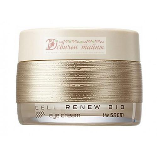 The Saem Крем для кожи вокруг глаз антивозрастной Cell Renew Bio Eye Cream