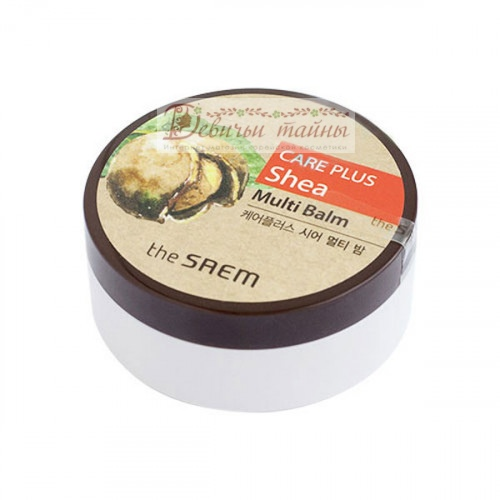 The Saem Крем-бальзам с маслом Ши Care Plus Shea Multi Balm